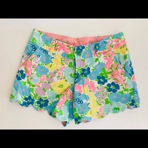 Lilly Pulitzer buttercup shorts size 00